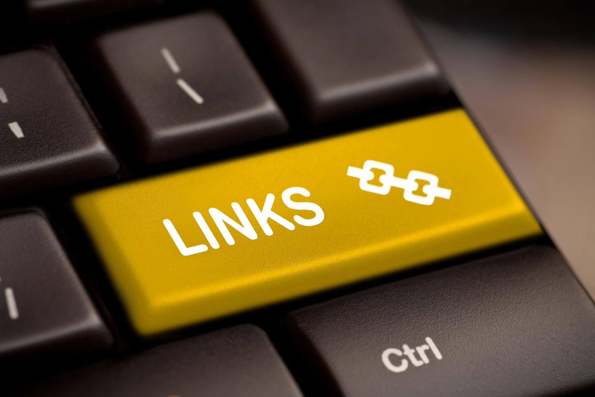 skillnaden mellan inbound links och interna länkar - och outbound links och externa länkar