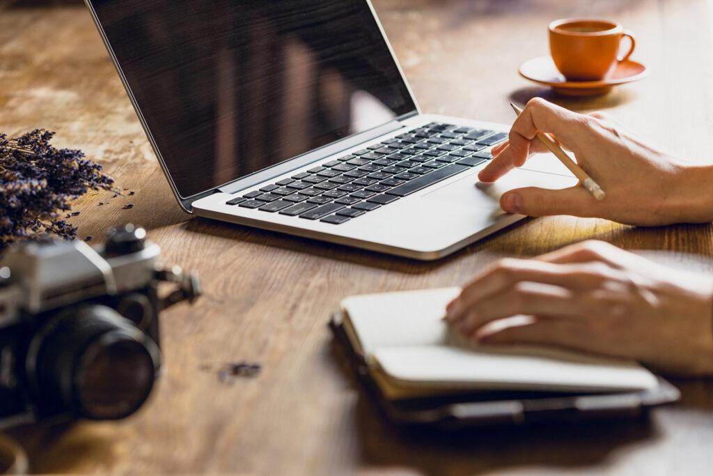 Nybörjare på att blogga